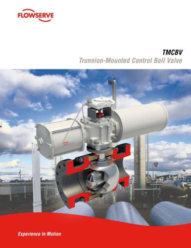 Trunnion-Mounted Control Ball Valve