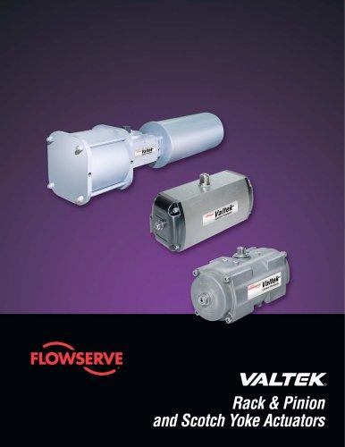 Valtek Rack & Pinion and Scotch Yoke Actuators Technical Brochure