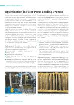 Optimization in Filter Press Feeding Process with Egger Turo Pumps