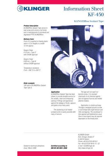 KLINGERflon sealant tape