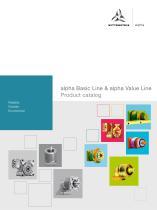 alpha Basic Line & alpha Value Line