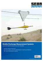 Mobile Discharge Measurement Systems