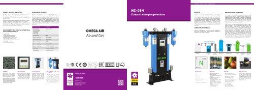 Compact nitrogen generators