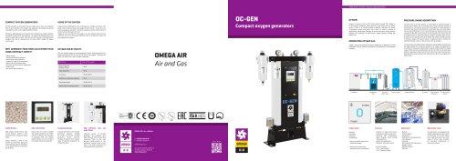 Compact oxygen generators