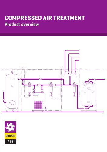 Compressed air treatment-Product overview 2 - Leaflet
