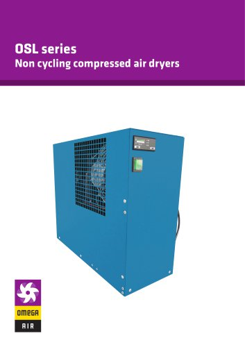 OSL series - Non cycling compressed air dryers