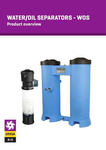 Water/oil separators - WOS - Product overview