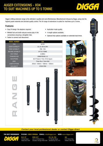Auger Extensions - XO4