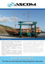 Travel Lift - Boat Hoist BHT 25 - 130