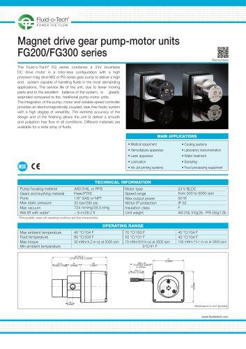 FG200-FG300 SERIES