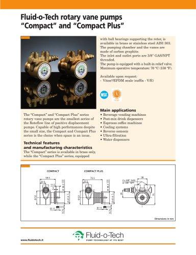 Fluid-o-Tech rotary vane pumps