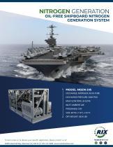 NITROGEN GENERATION OIL-FREE SHIPBOARD NITROGEN GENERATION SYSTEM