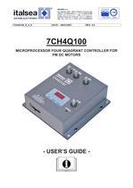7CH4Q100 MICROPROCESSOR FOUR QUADRANT CONTROLLER FOR PM DC MOTORS