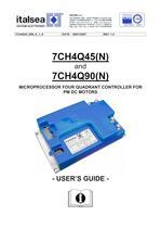 7CH4Q45(N) and 7CH4Q90(N) MICROPROCESSOR FOUR QUADRANT CONTROLLER FOR PM DC MOTORS
