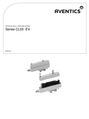 CL03 series-EV electrically operated