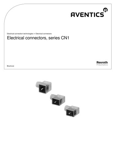 Electrical connectors, series CN1