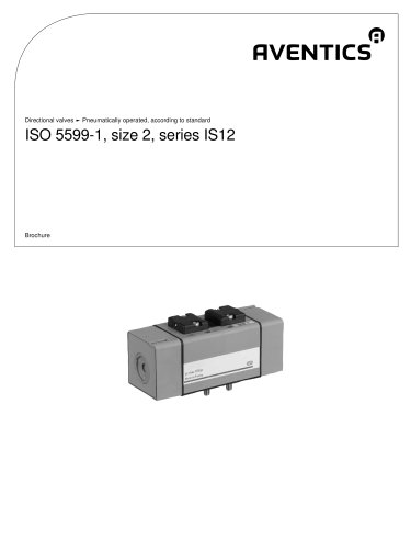 ISO 5599-1, size 2, series IS12