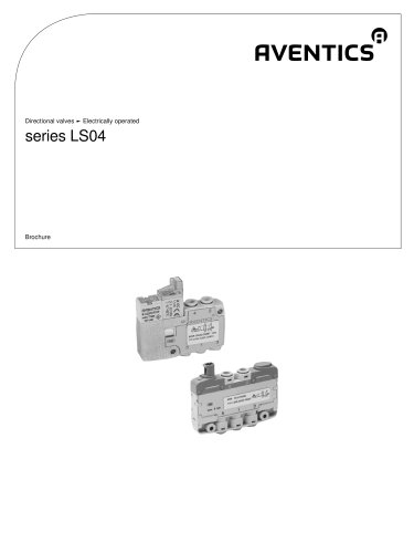 LS04 series electrically operated