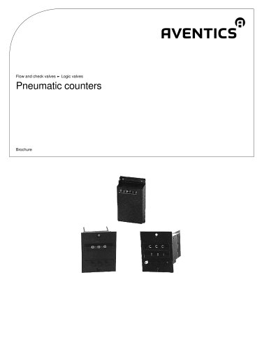 Pneumatic counters
