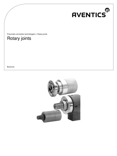 Rotary joints
