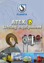 PLANETA Catalogue ATEX Lifting Equipment No.1