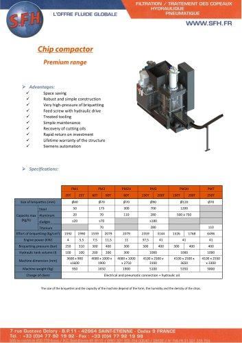 Data sheet Compactor premium range