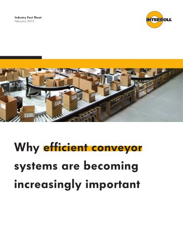 efficient conveyor systems
