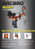 ARCBRO Mantis Arc Welding Robot