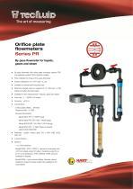 Series_PR_Orifice_Plate_by-pass_flowmeter