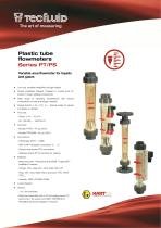 Series_PS_Plastic tube flowmeter