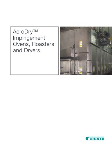 AeroDry™ Impingement Ovens, Roasters and Dryers.