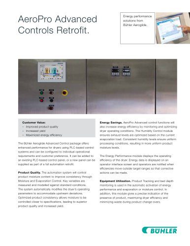 AeroPro Advanced Controls Retrofit.