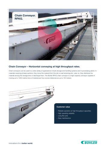 Chain conveyor RFKG