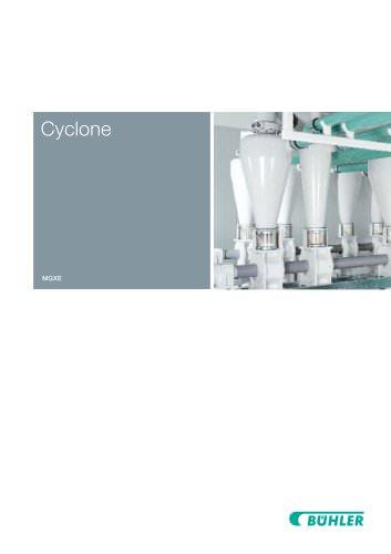 Cyclone Separator MGXE/MGXG
