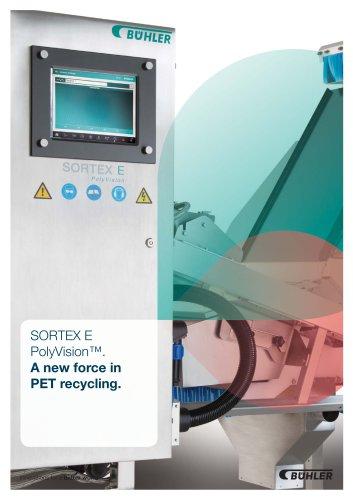 SORTEX E PolyVision for Plastic
