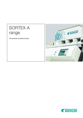 SORTEX A range.