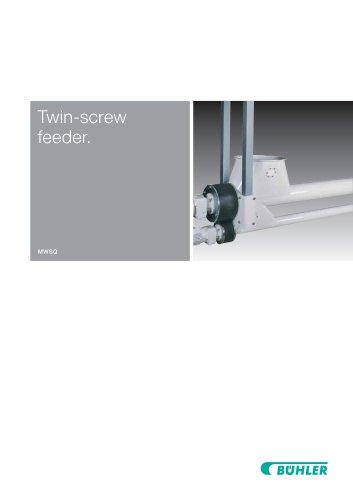 Twin-Screw Feeder MWSQ