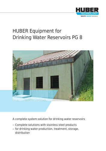 Equipment in Stainless Steel: System Solutions for Drinking Water Storage Tanks