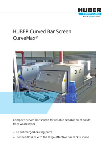 HUBER Curved Bar Screen CurveMax