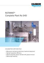 ROTAMAT® Complete Plant with Hydro-Duct Ro 5HD