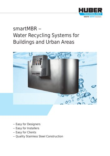 smartMBR ? Water recycling for a better tomorrow