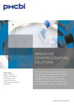 innovative cryopreservation solutions