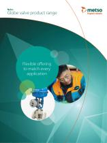 Neles Globe valve product range