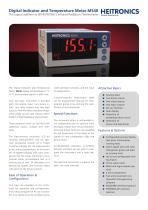 Digital Indicator and Temperature Meter MS40