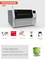 i  Series  Precise Laser Cutting Machine i7