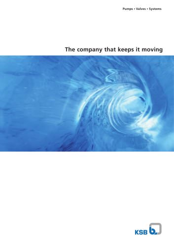 KSB - The company that keeps it moving
