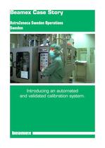 Case Story AstraZeneca- Introducing an automated and validated calibration system