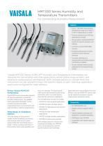Humidity and Temperature Meter Series HMT330