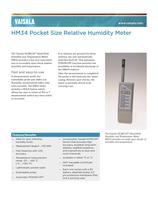 Vaisala HUMICAP® Hand-Held Humidity and Temperature Meter HM34