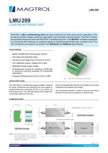 LMU 209 | Load Monitoring Unit
